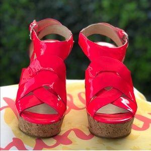 Joan & David SAISLEEN Platform Sandals ❤️